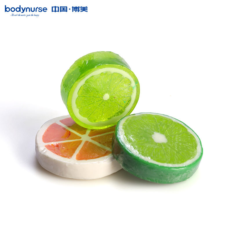 Whitening Handmade Lemon Bath Soap Herbal Glycerine Solid Basic Cleaning