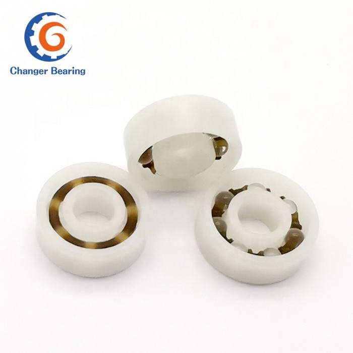 popular plastic ball bearing 6005 6203 6204 6205 6206 with glass balls