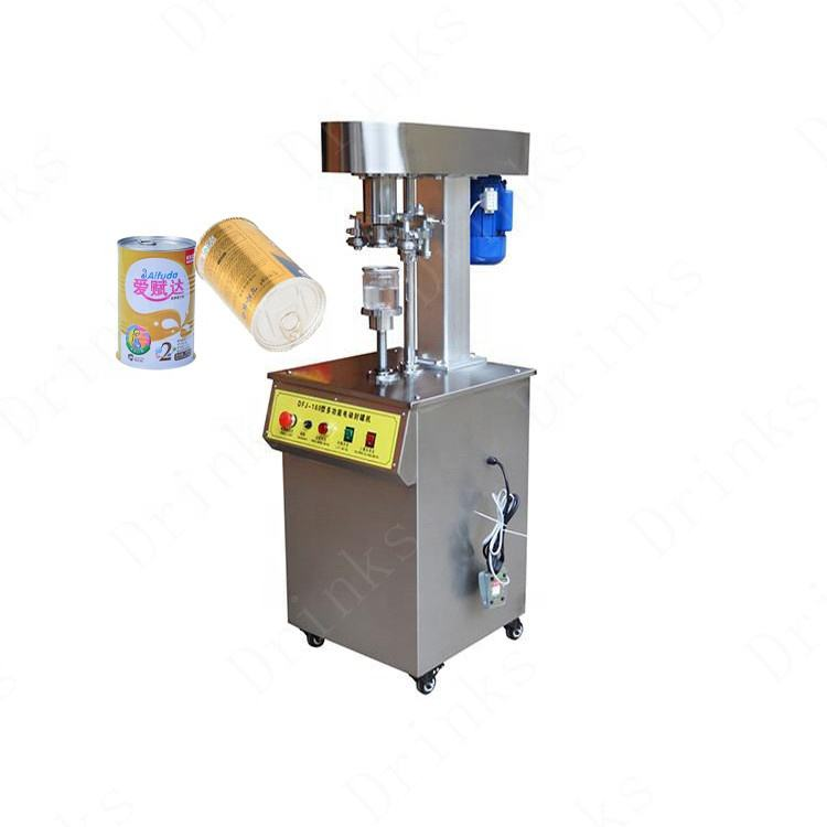 Factory Price Semi-automatic Manual Food Beverage Can Seaming Machine