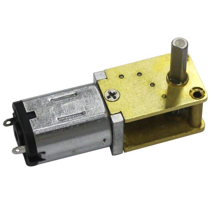 90 degree D-shape shaft 12v dc gear motor with gearbox