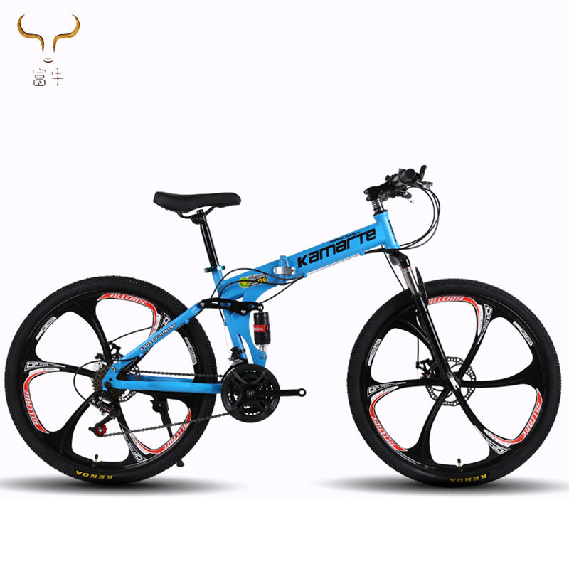 "factory directly selling mountain cycles full suspension / factory folding bicicleta 26"" high carnon steel frame MTB bicycle"