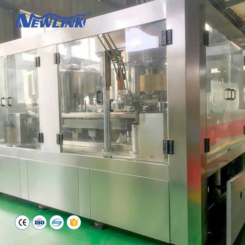 Aluminum Can /Pet/Plastic Can Filling And Sealing Machinery for Beverage Industry