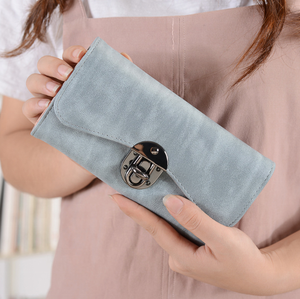 Good looking long wallets fashion design PU leather women /lady purses