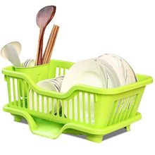 Dryer plastic chopsticks dish bowl sink basket rack storage holder/drainer bowl dish rack/cutlery drainer