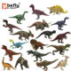 Simulation shantou plastic toy dinosaur model for theme park gift