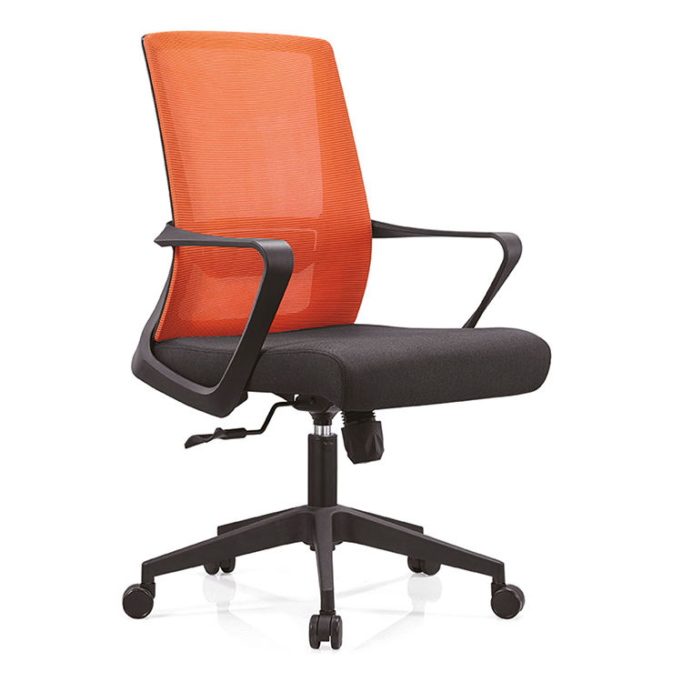 Cost effective mid back conference room office chair with armrest