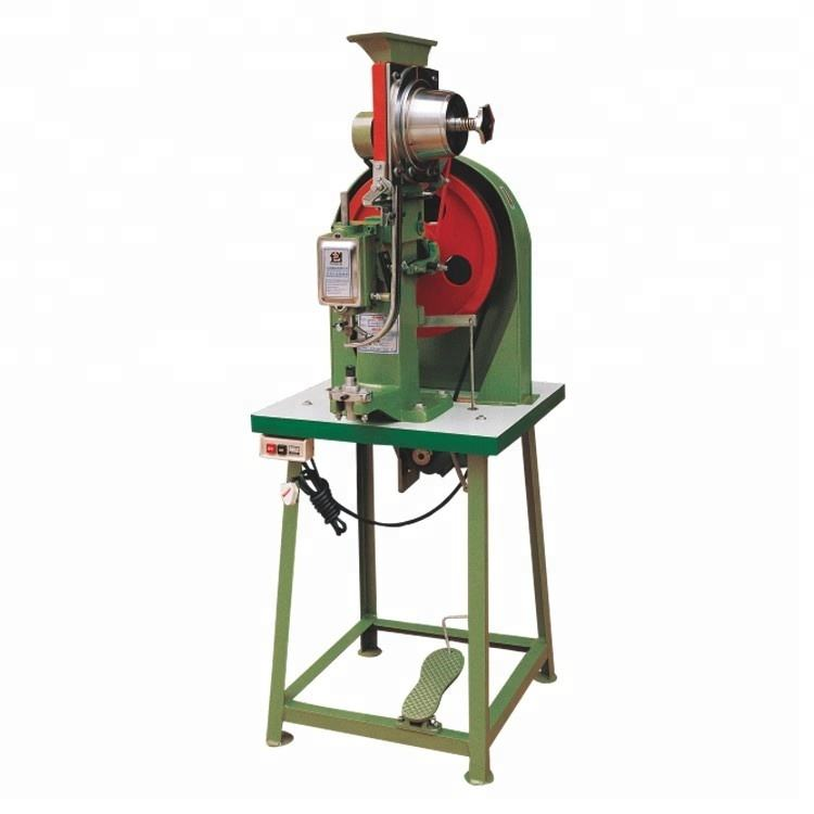 JZ-918H Semi Automatic Shoe Hook / Buckle / D-ring Riveting Machine