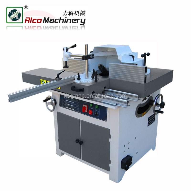 MX5615A Tilt spindle wood shaping machine with sliding table