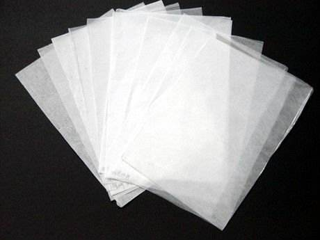 MG 17 gsm glazed light white wrapping tissue papper