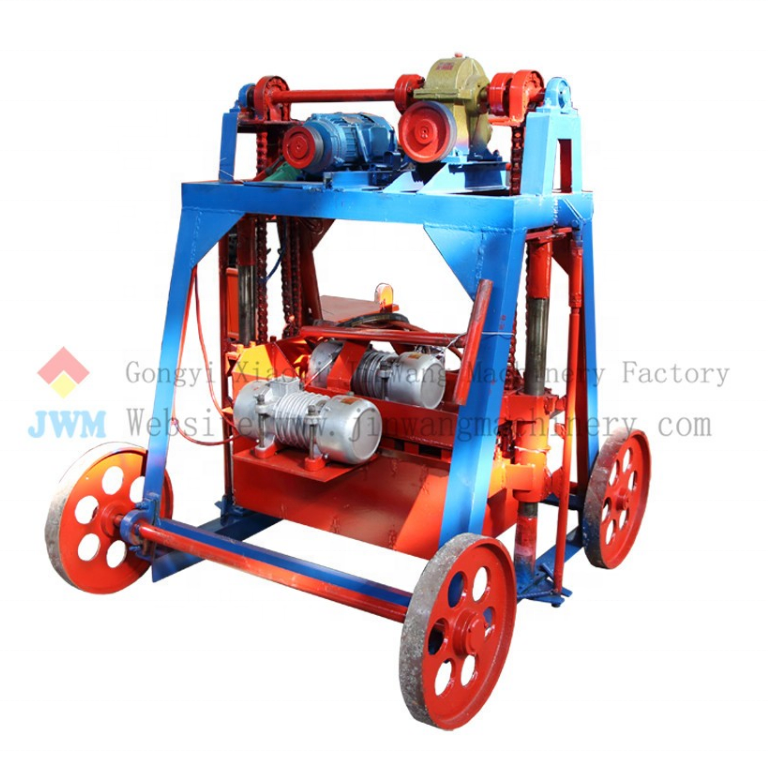 the most popular reliable quality of brick making machine with high production in low price