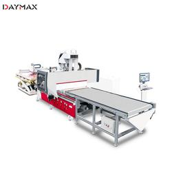 Fully automatic furniture woodworking nesting cnc router