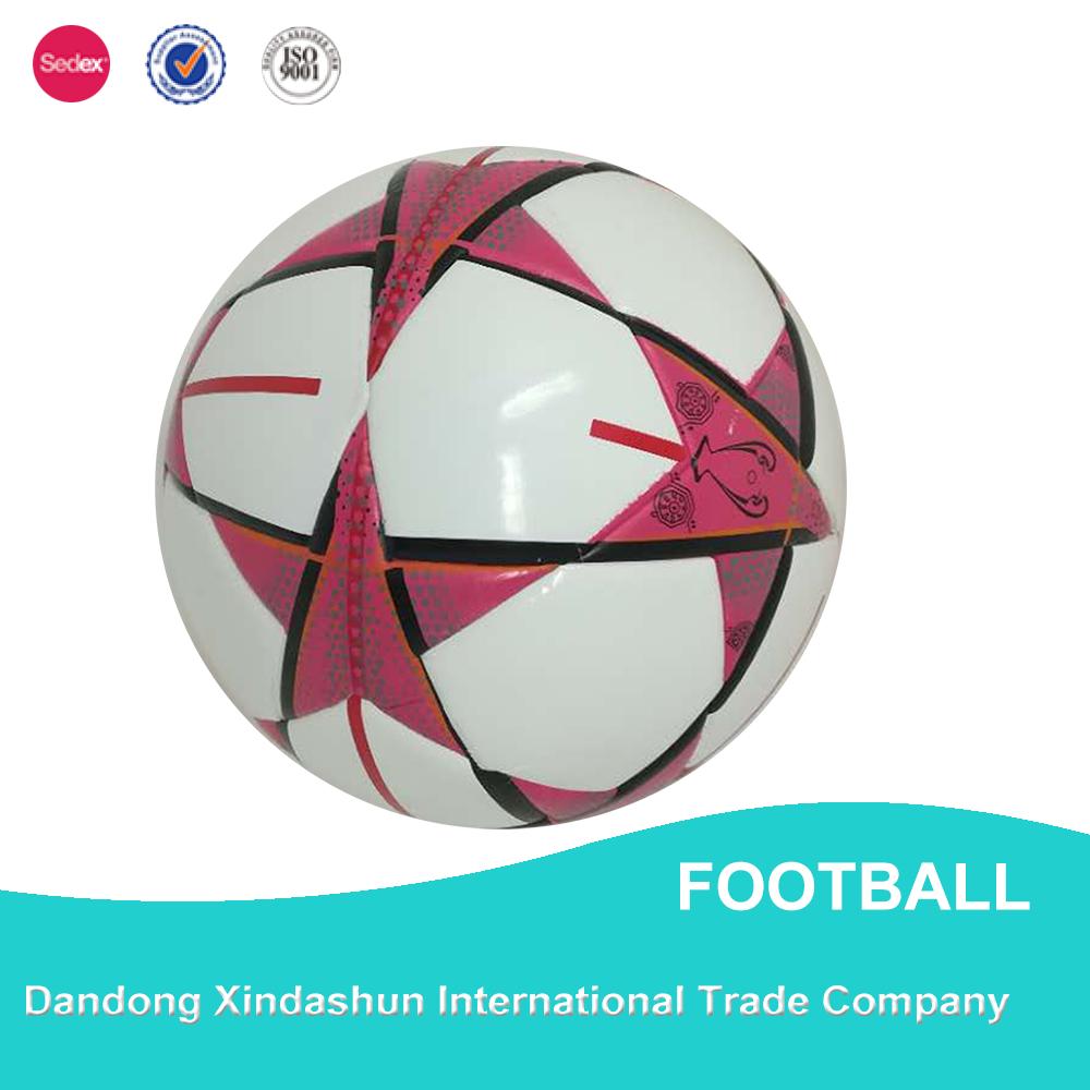 Logo personnalisé de haute qualité balle de football en gros