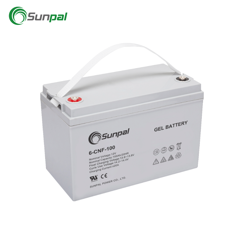 Sunpal Storage Battery Deep Cycle Solar Battery 12V 24V 100AH 150AH 200AH 250AH
