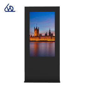 55 ''1920x1080 outdoor flache panel lcd public display mit windows OS digital signage touch screen