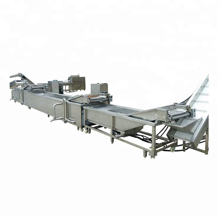 150kg/h French Fries/Frozen Potato Chips Production Line