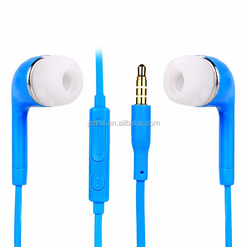 In-Ear Style and Colorful Promotion Earphone For Samsung galaxy J5 headset, for Samsung galaxy S3 S4 S5 S6 genuine earphone