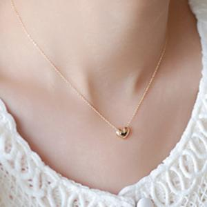 Small heart choker Necklace for women gold silver chain Small love NECKLACE PENDANT in collar Bohemian Choker necklace jewelry