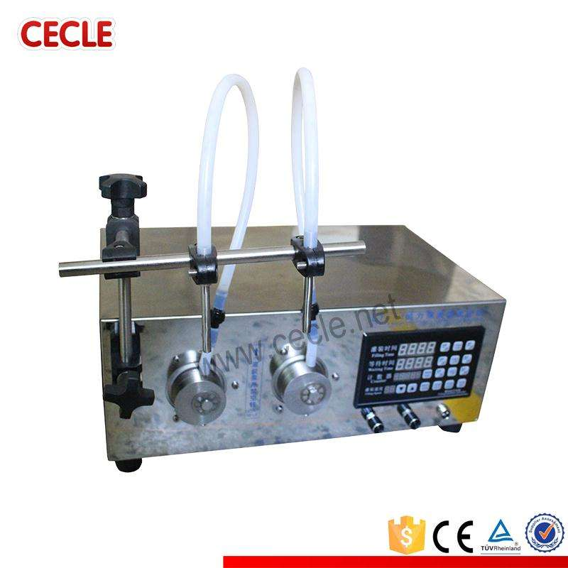Low price DF-2A small carbonated drink filling machine/gear pump sunflower oil filler