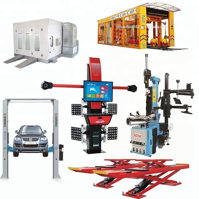 vehicle equipment ,Garage equipment spray booth,tire changer