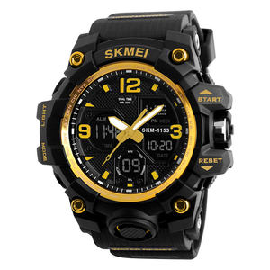 watch 2019 skmei 1155B analog and digital military style watches army men sport waterproof wristwatches