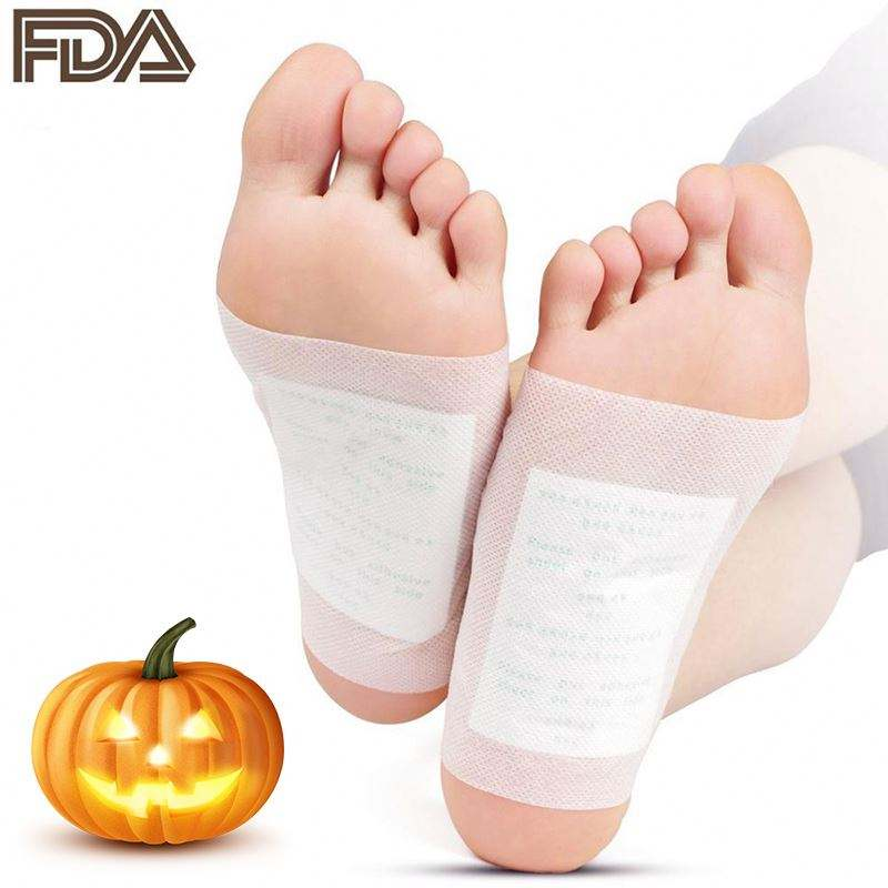 20pcs = (10pcs Patches + 10pcs Adesivos) Detox Foot Patches Pads Pés de Toxinas Do Corpo S