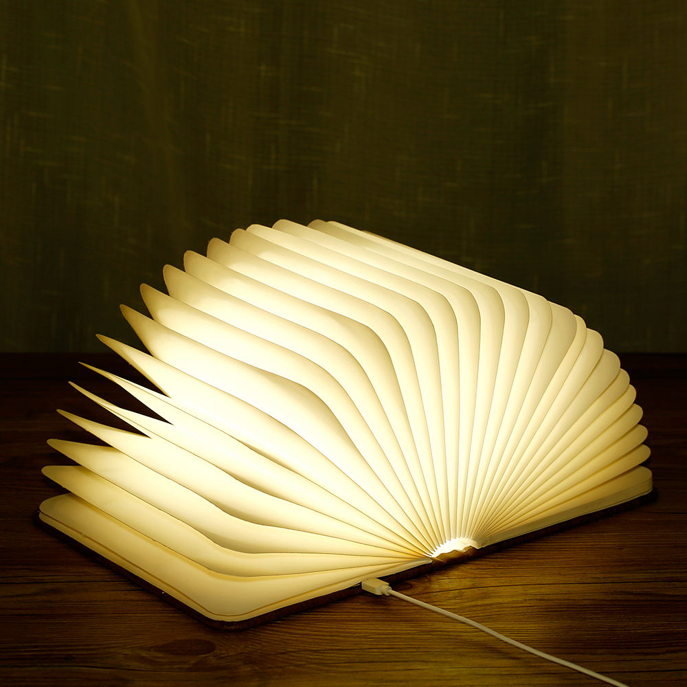 Gift Items/Cute Night Light USB Book Shape Foldable Led Lamp /Folding lumio Book Light