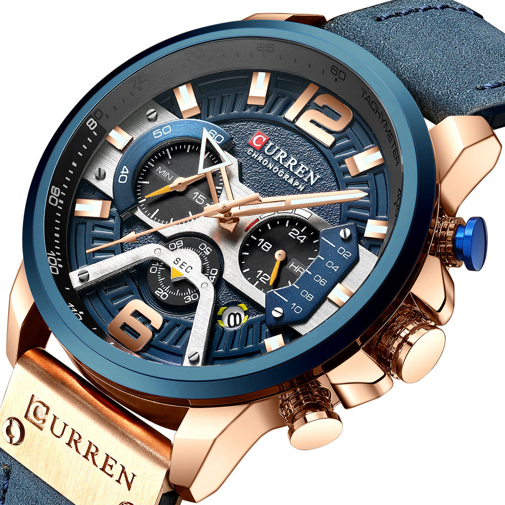 2020 Curren 8329 quartz Men Hot Sale Watches Men Wrist New Quartz Watch Factory Wristwatches Sales Wrist Watch Digital