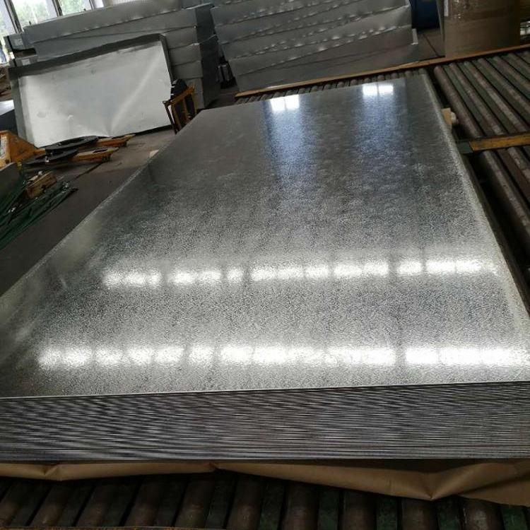 Hot dipped zinc coated galvanized flat iron steel sheet