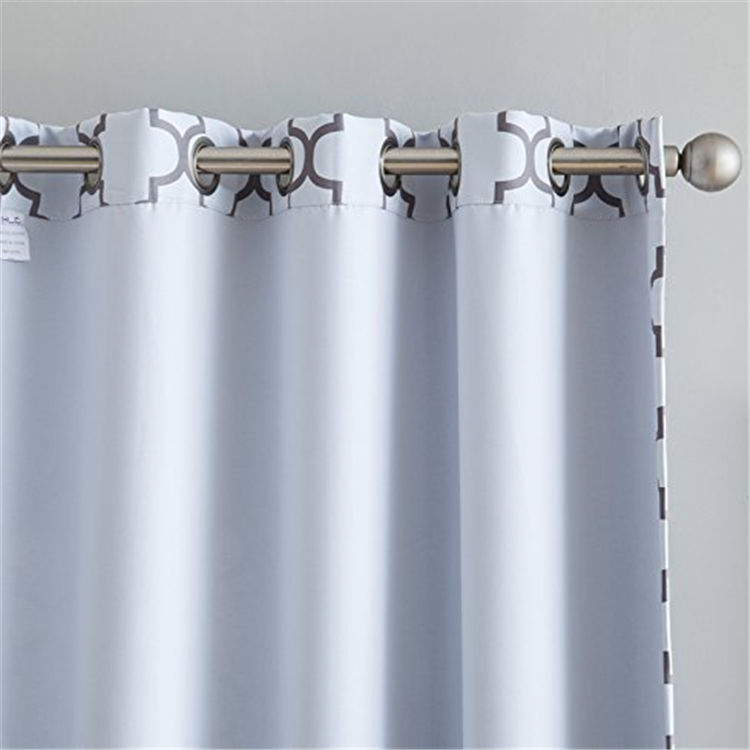 New design curtains made in china,Wholesale hot sale curtains in America,100%Blcakout curtains,