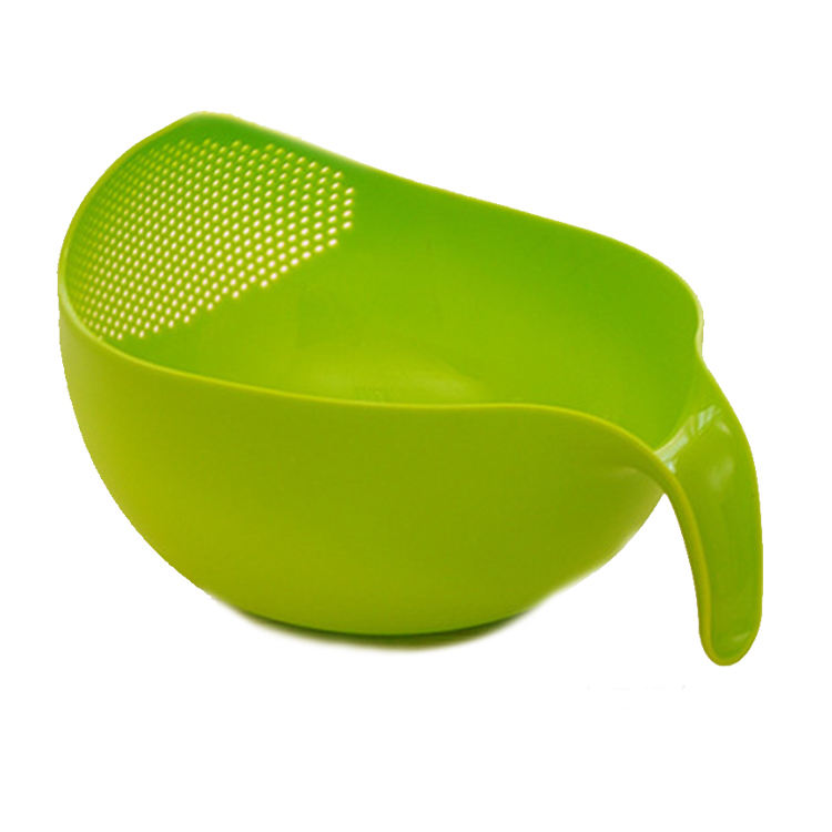 Kitchen Wash Rice Sieve Plastic Vegetables Fruit Drain Rack Wash Rice Sieve Vegetables Basket Kitchen Strainer Tools