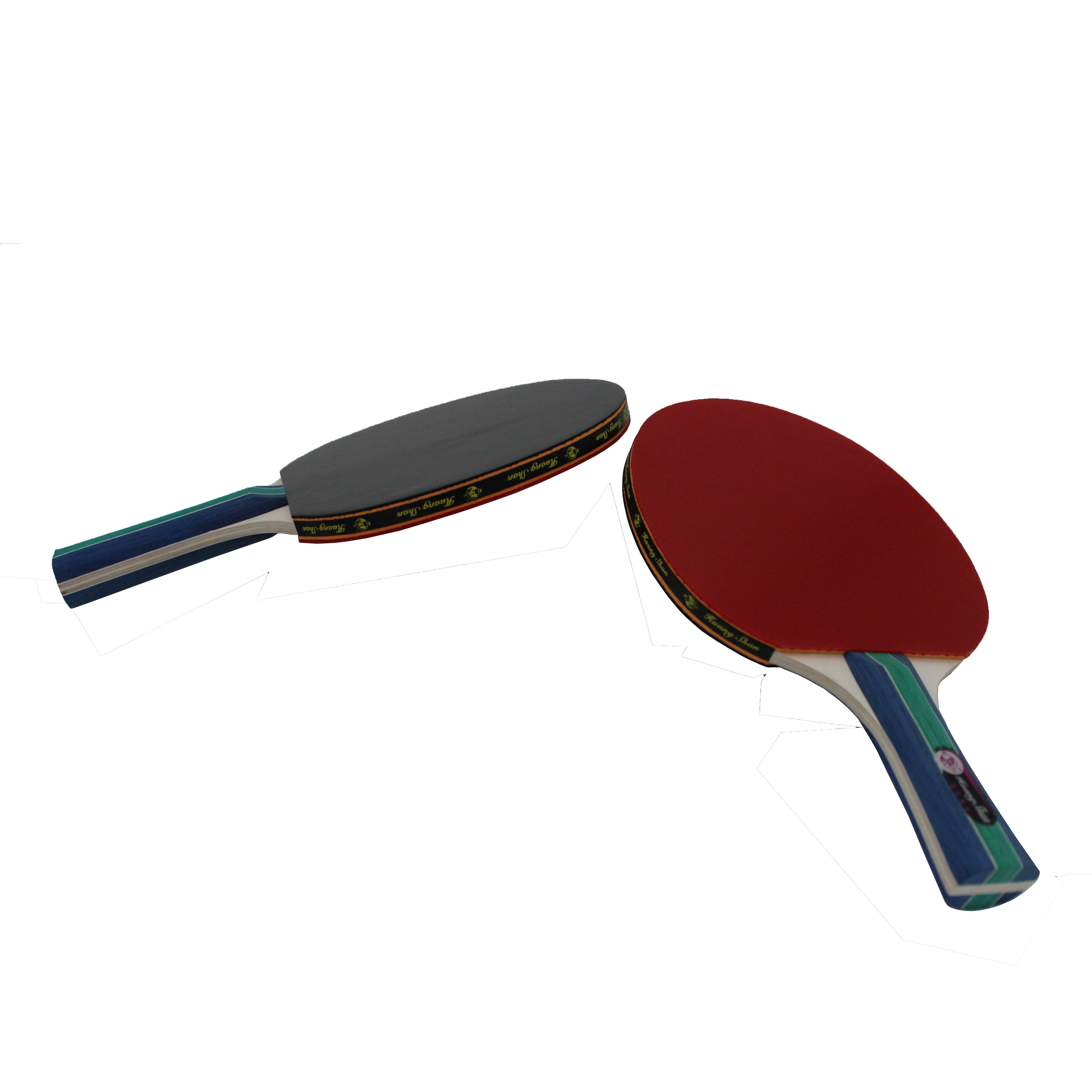Table Tennis Easy To Use And Affordable Pingpong Table Tennis Racket 5 Star 4 Player Set