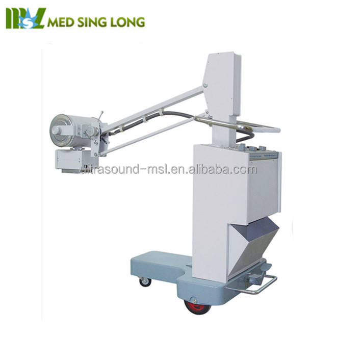 Mobile x-ray equipment/ hospital bedside x ray machine in 50mA (MSLPX08F)
