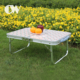buy direct from china outdoor camping 4ft lightweight aluminum folding study portable table laptop bed desk