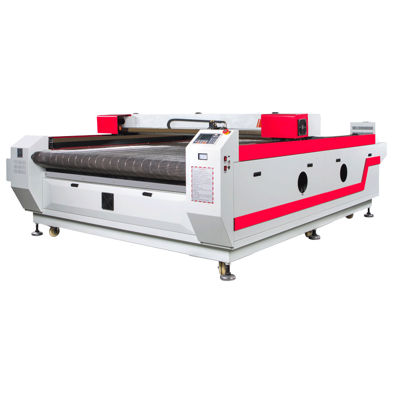 laser cutting knit fabric AOYOO ccd camera laser cutting machine