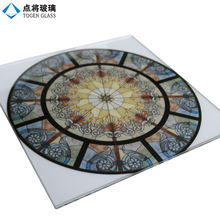 Modern Design Decorative Tempered Stained Glass for Church