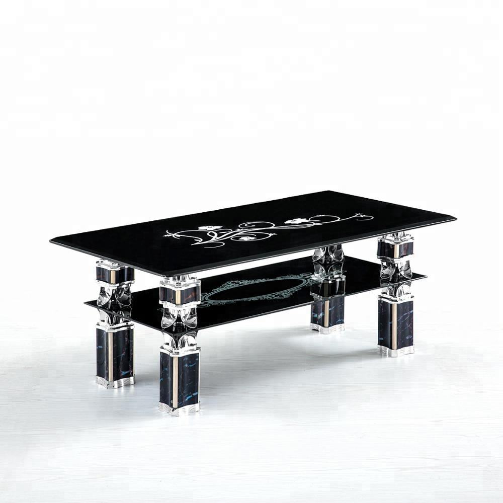 Living Room Furniture Modern Glass Coffee Table Cheap Center Table for sale Glass Table