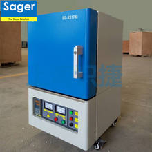 Laboratory heating equipment 1200~1400C electric muffle furnace for sintering ceramics zirconia parts