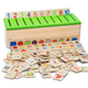 Early childhood Educational Classification Toy Category Boxes Baby Learn Toys
