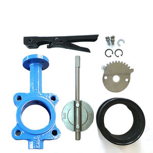 Reasonable Price 2 cost butterfly valve 160 mm body cast iron