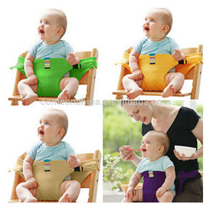 Portable Baby Travelling Chair Safety Belt For Dining