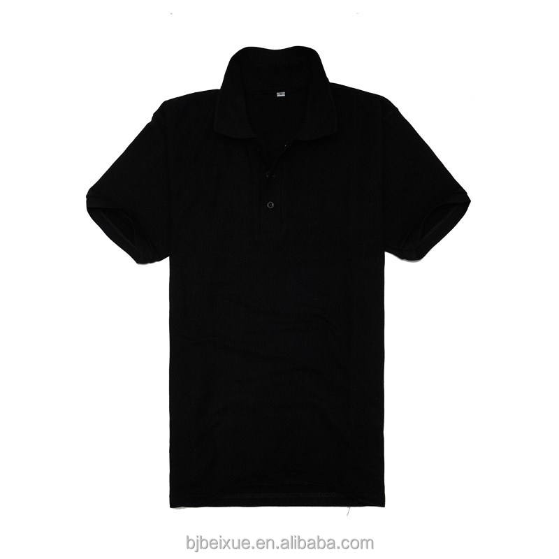 2018 new style thick 280g CVC polo shirt polo t shirt men polo shirt on stock