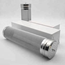 spice jar stainless steel dry hop filter 7.1cm