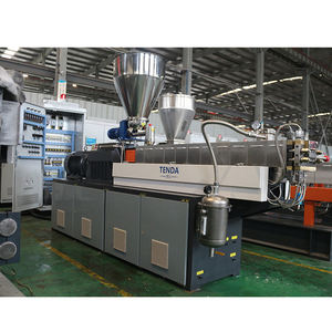 Twin Screw Extruder Color Plastic melting Masterbatch Making Machine