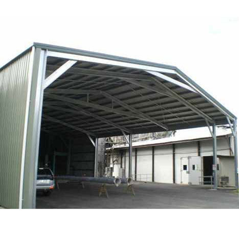 Prefabricated Light Steel Structure China Metal Storage Sheds