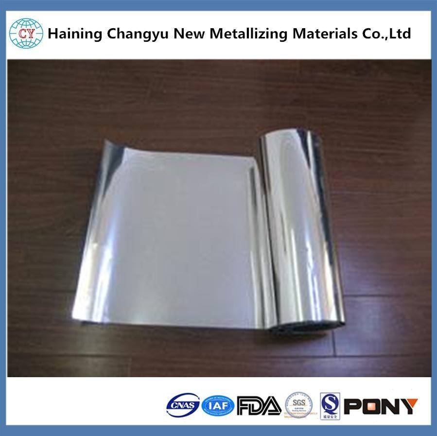 Metallized Paper Sliver Metallized Aluminum Film Kraft Paper For Cosmetic Packaging Materials