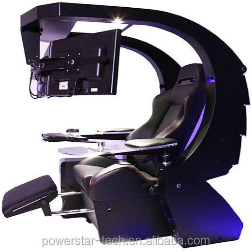Multi-function emperor chair workstation automatic Scorpion PC chair