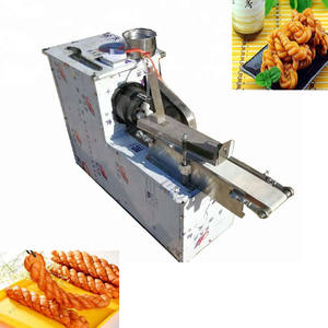 Twisted Donut Encrutsing Machine Deeg Draaien Snijmachine Pretzel deeg twist making machine