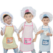 Good performance wholesale China Manufacturer kids apron and chef hat