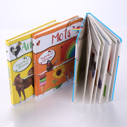 Good quality full color children board book printing