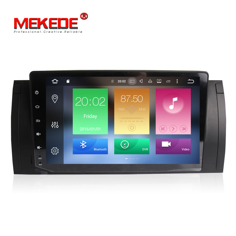 MEKEDE Android 9.0 OCTA CORE px5 car radio android for BMW 5 Series E53 BMW X5 E54 with 4+32GB WIFI GPS BT SWC mirrorring